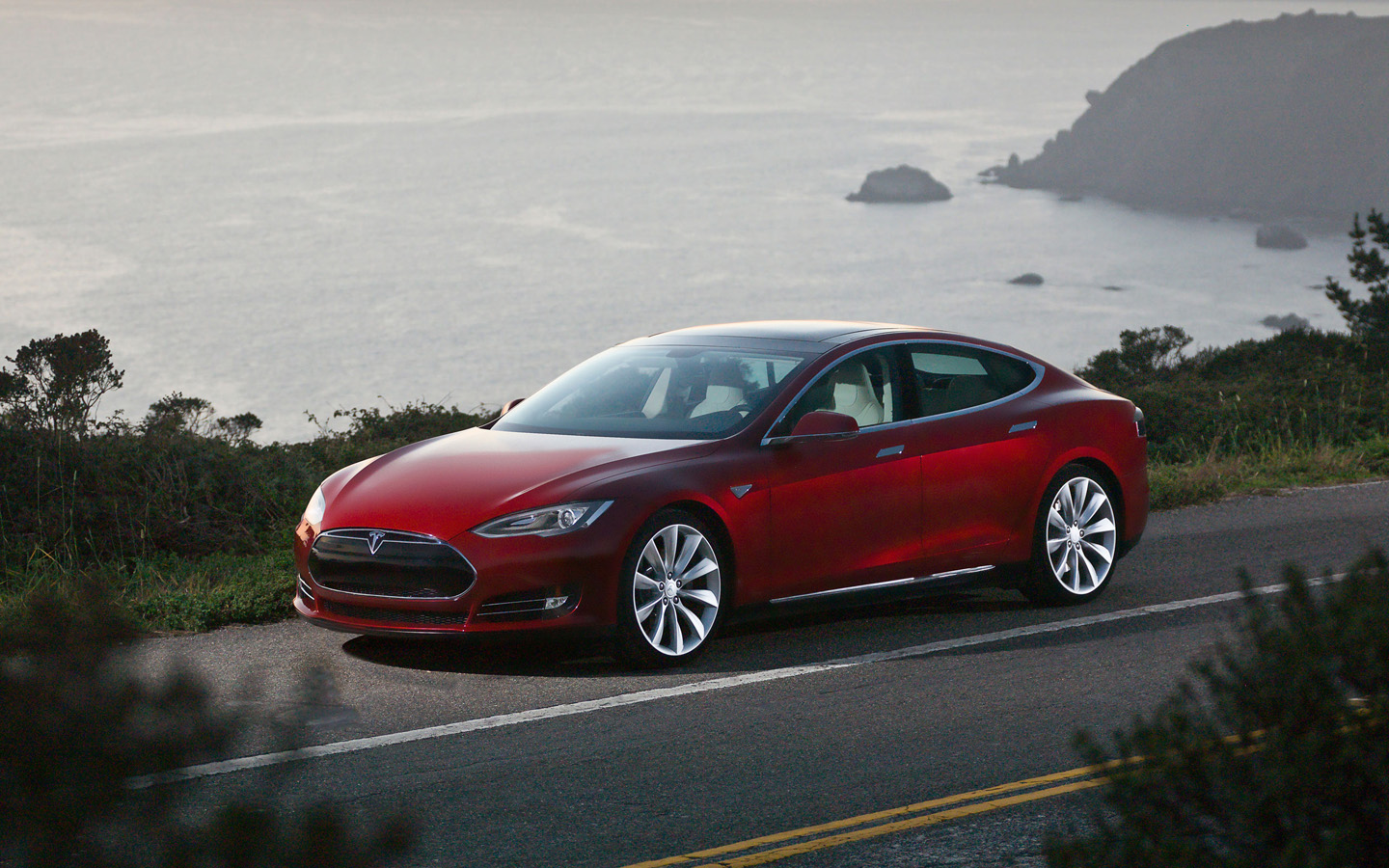 Tesla motors model s 2012 2013 2014 2015 autoevolution