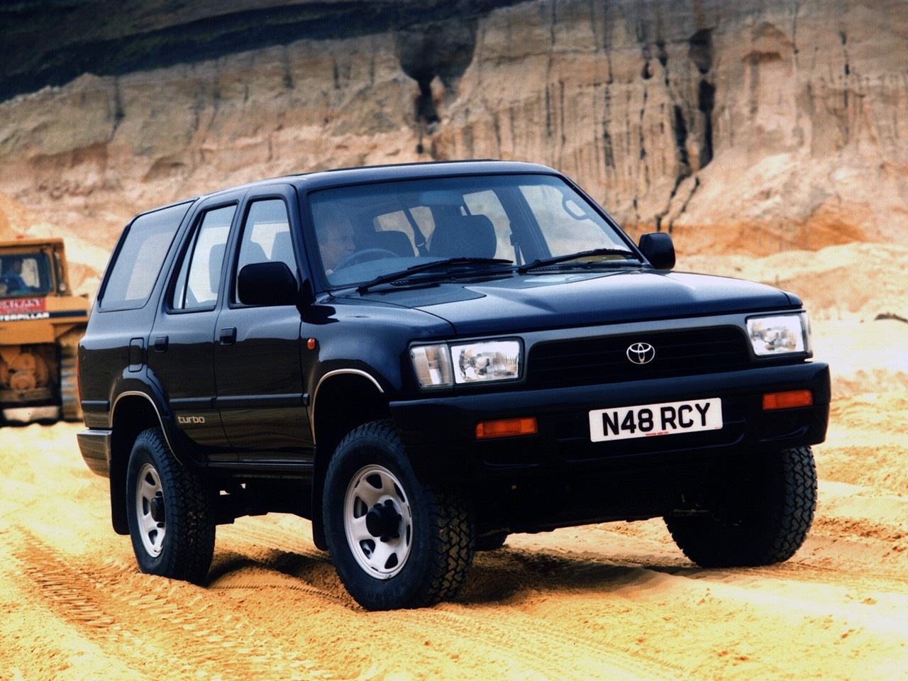 Toyota 4runner 1990 on gmc v6 engine