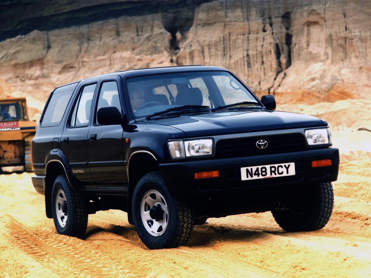 Toyota 4runner Models >> TOYOTA 4Runner - 1990, 1991, 1992, 1993, 1994, 1995 - autoevolution