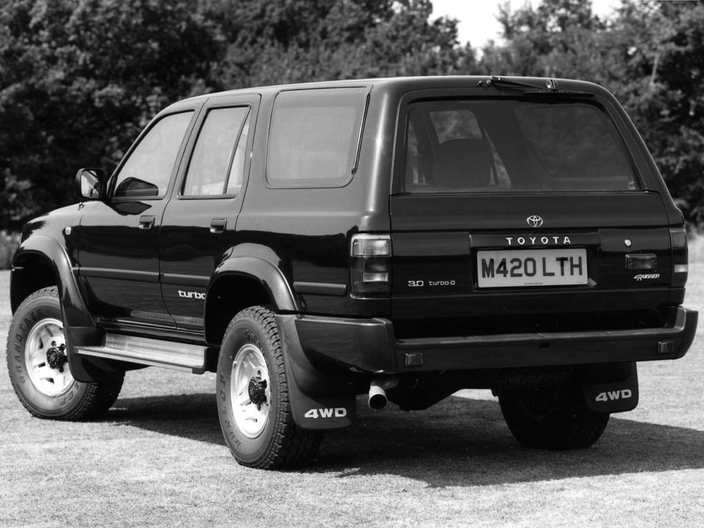 Toyota 4runner Specs 1990 1991 1992 1993 1994 1995