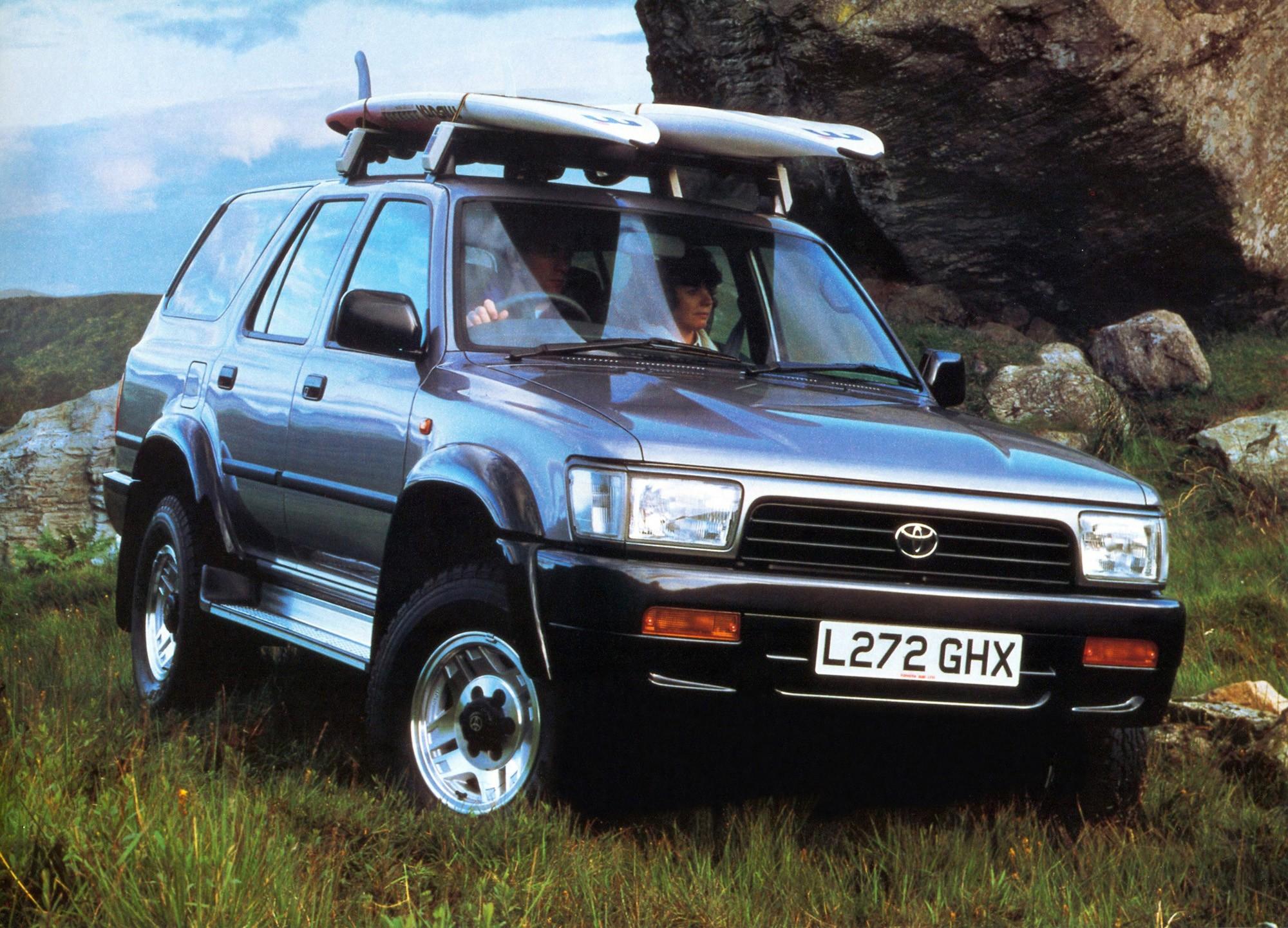 Used Toyota 4runner >> TOYOTA 4Runner - 1990, 1991, 1992, 1993, 1994, 1995 - autoevolution
