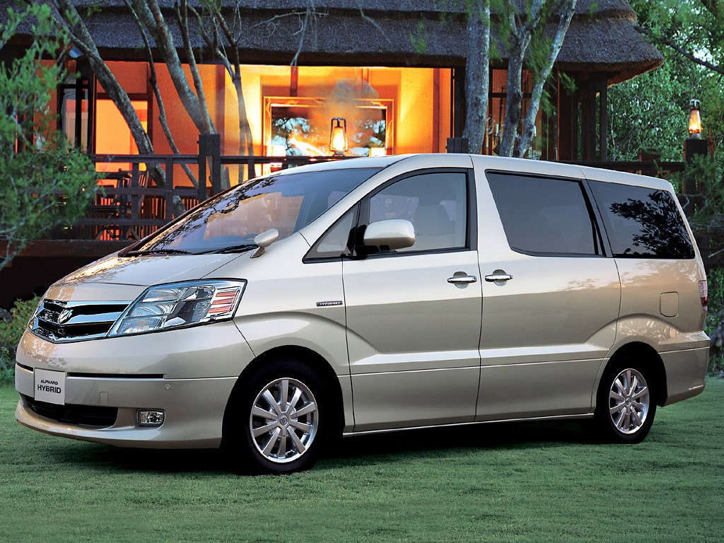 TOYOTA Alphard Specs & Photos