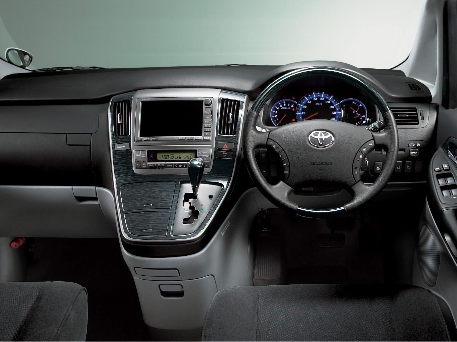 Toyota Alphard Specs 2002 2003 2004 2005 2006 2007