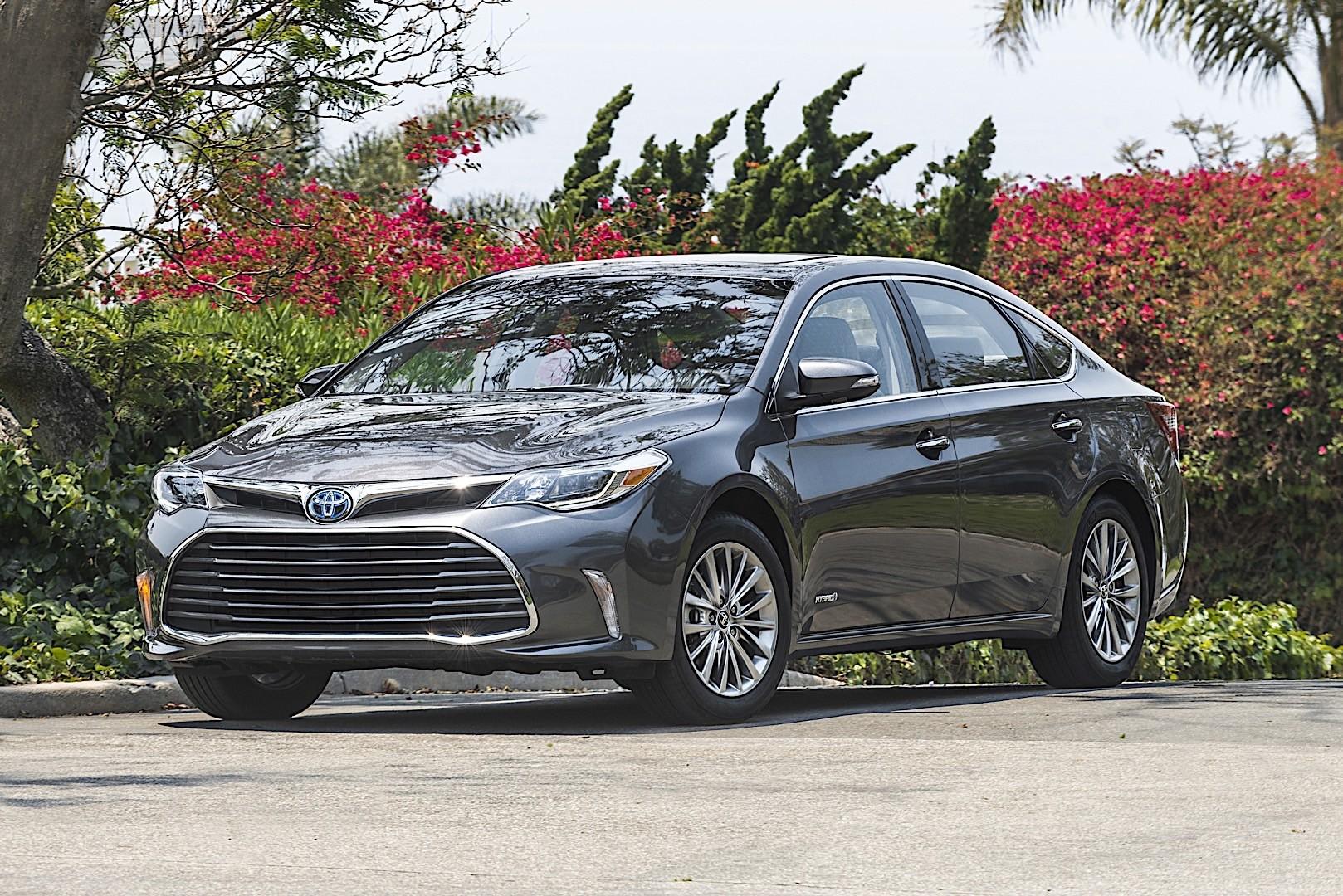 Toyota Avalon Specs 2015 2016 2017 2018 Autoevolution