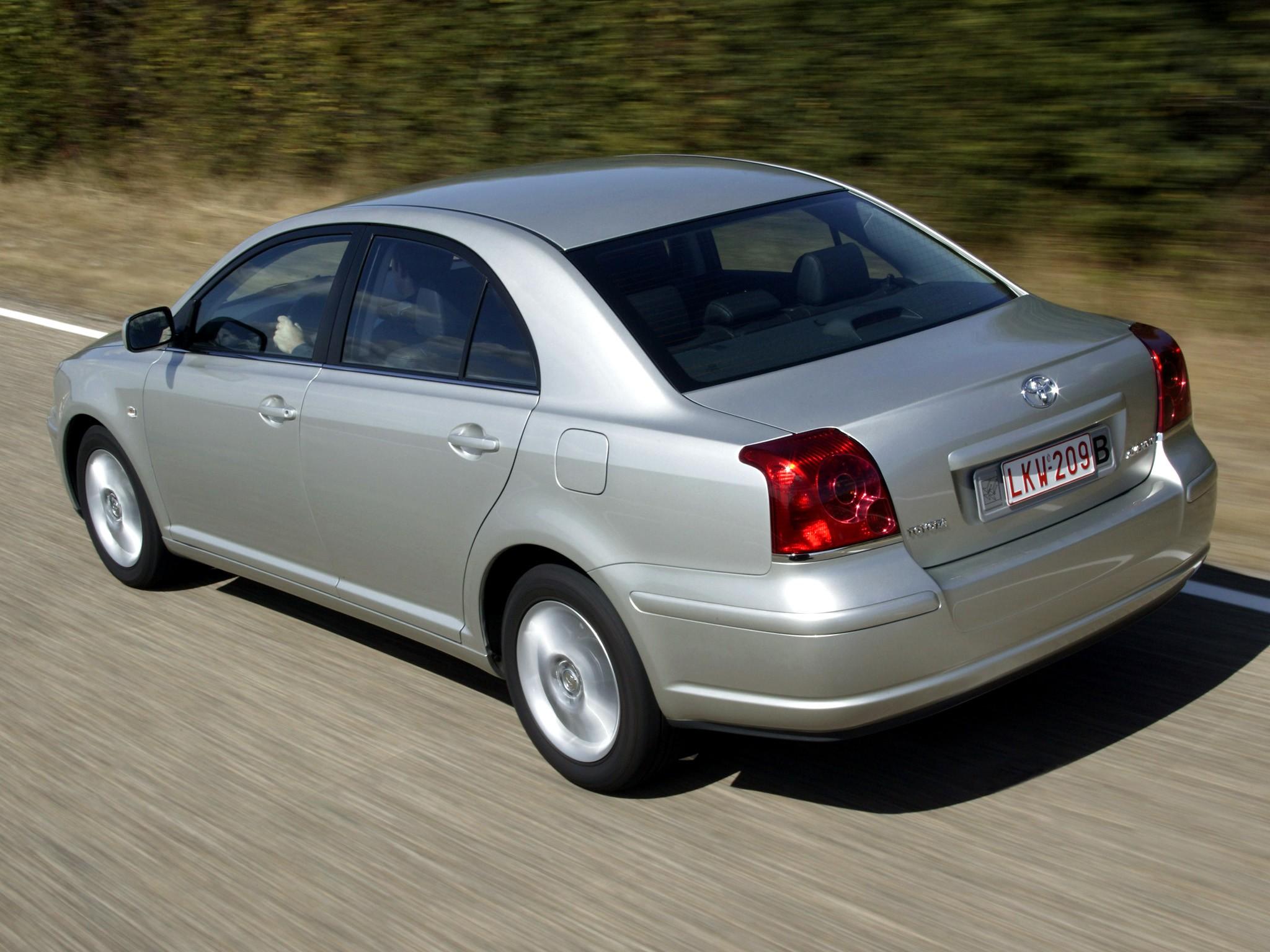 TOYOTA Avensis - 2003, 2004, 2005, 2006 - autoevolution