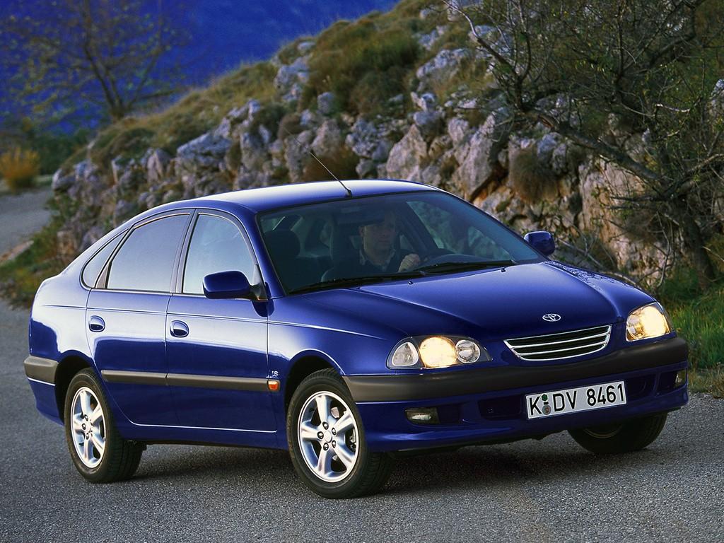 TOYOTA Avensis Liftback - 1997, 1998, 1999, 2000, 2001, 2002, 2003 ...