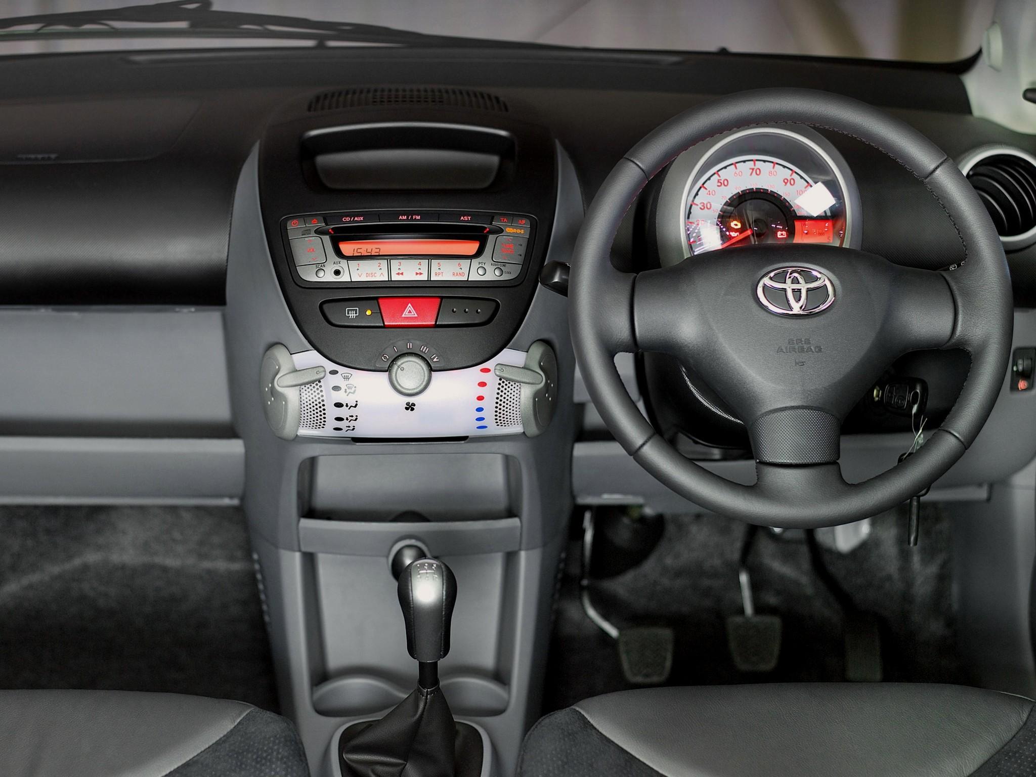 Toyota aygo 3 doors 2009 2010 2011 2012 2013 2014 autoevolution - Toyota aygo interior ...