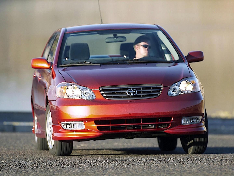 TOYOTA Corolla (US) specs & photos - 2002, 2003, 2004, 2005, 2006, 2007, 2008 - autoevolution