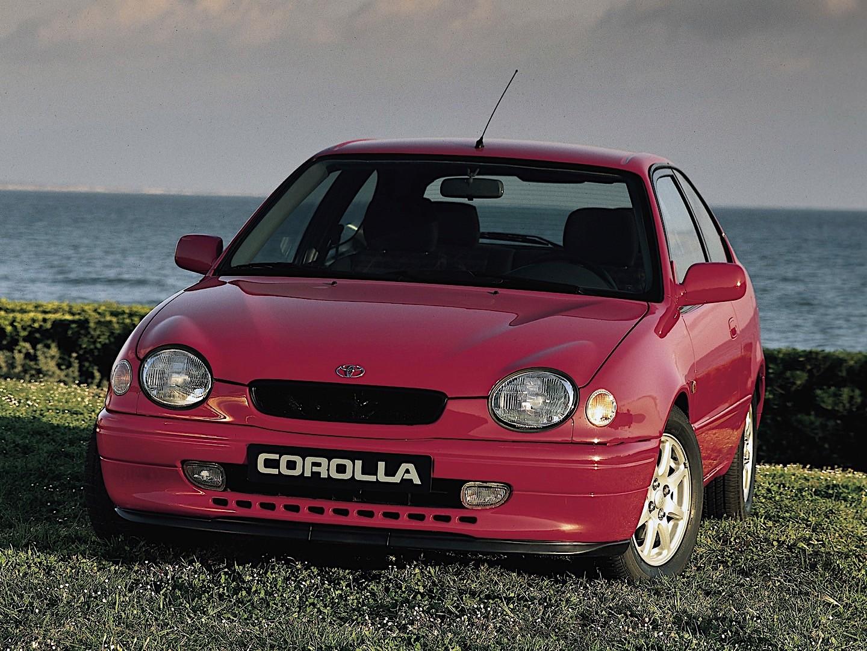 toyota corolla 3 doors specs photos 1997 1998 1999 2000 autoevolution. Black Bedroom Furniture Sets. Home Design Ideas