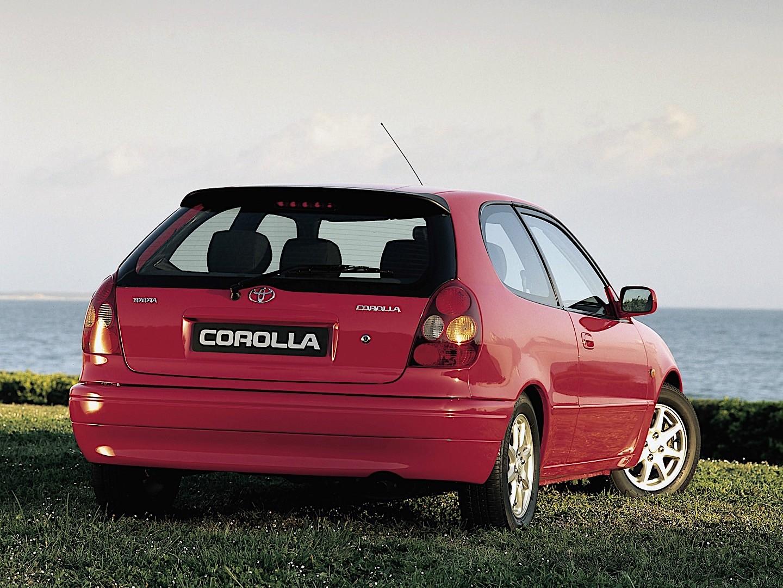 Toyota Corolla 3 Doors Specs Amp Photos 1997 1998 1999