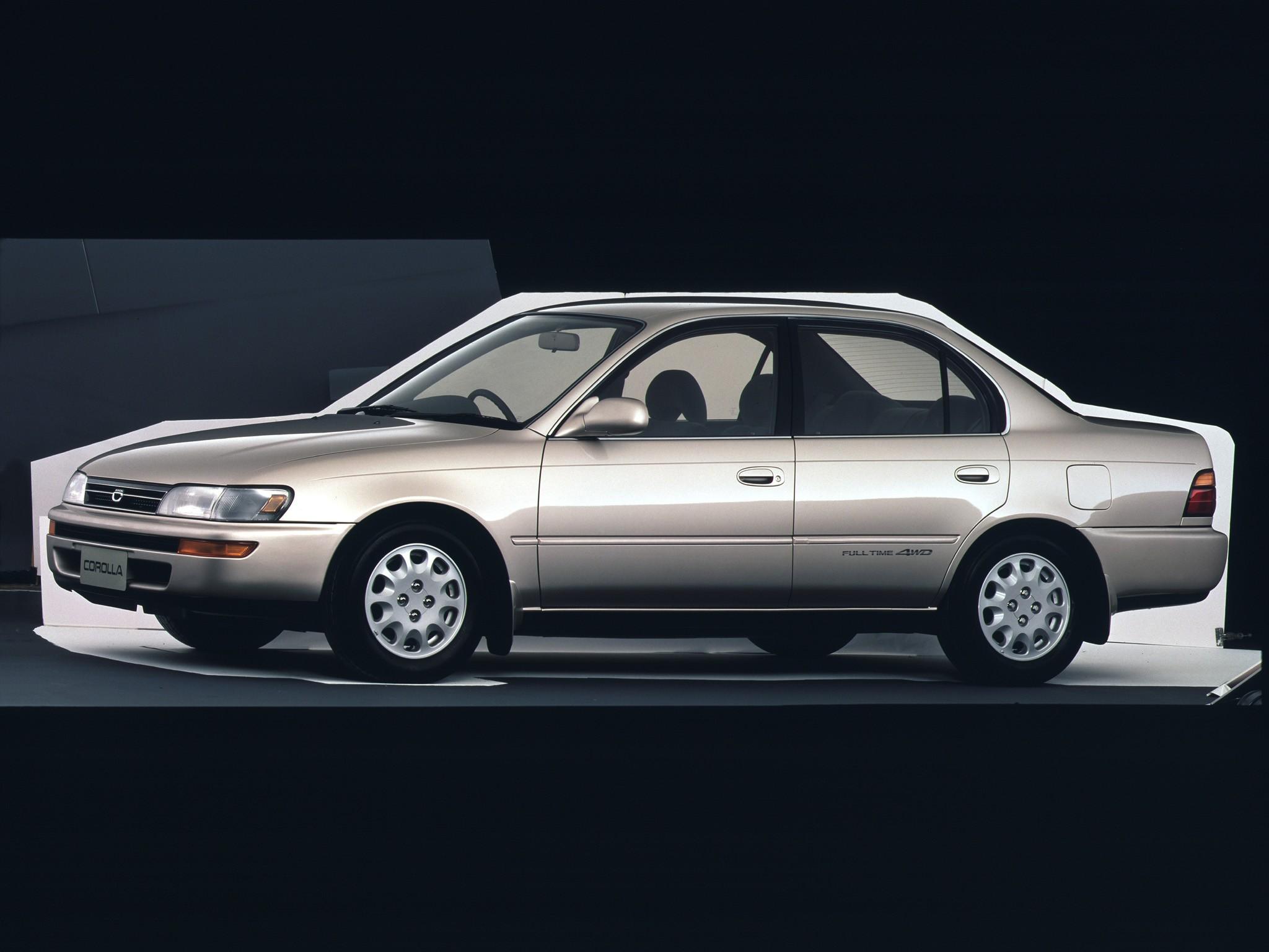 manual toyota corolla 1992 automatico