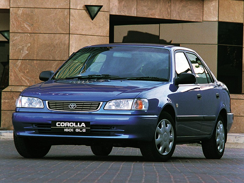 TOYOTA Corolla Sedan specs & photos - 1997, 1998, 1999 ...