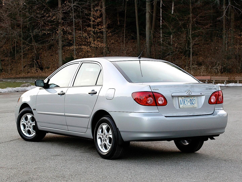 TOYOTA Corolla Sedan specs & photos - 2002, 2003, 2004 ...