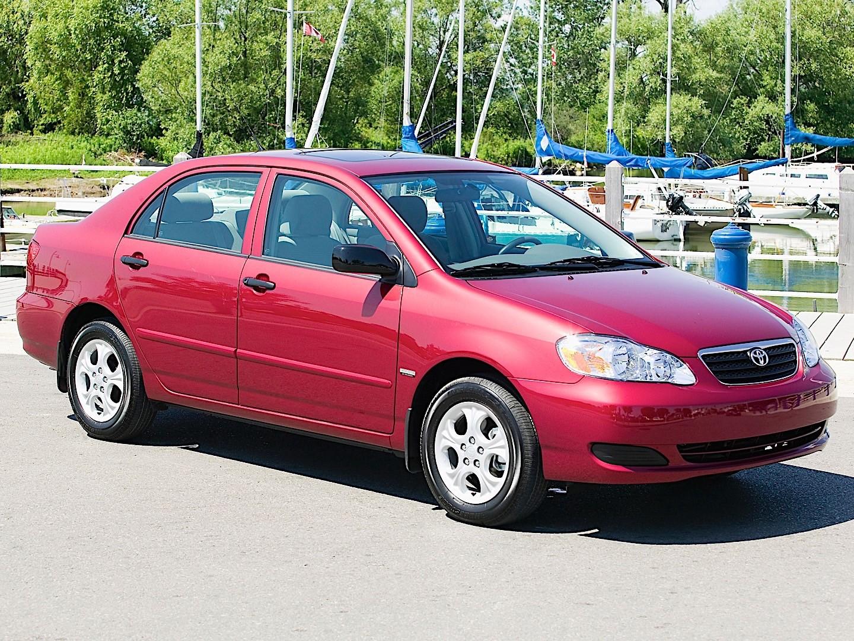 Toyota Corolla Sedan Specs Amp Photos 2002 2003 2004
