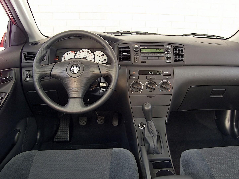 Download 2002 Toyota Corolla S Specs