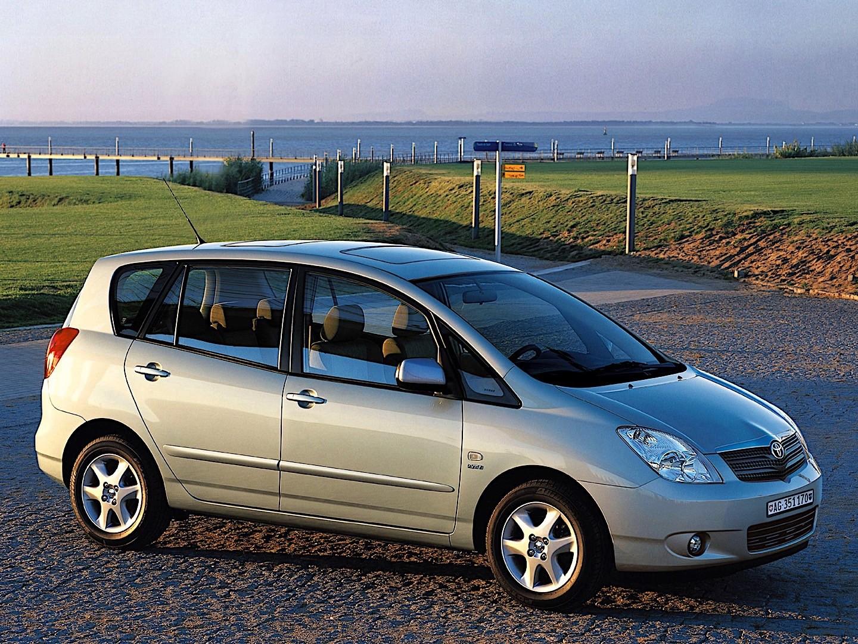 TOYOTA Corolla Verso specs & photos - 2002, 2003, 2004 ...