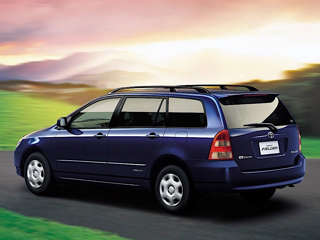 TOYOTA Corolla Wagon specs & photos - 2002, 2003, 2004 ...