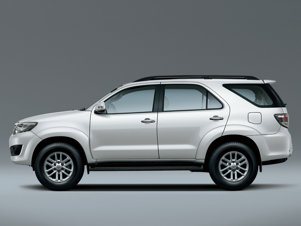 Toyota Fortuner Specs 2011 2012 2013 2014 2015