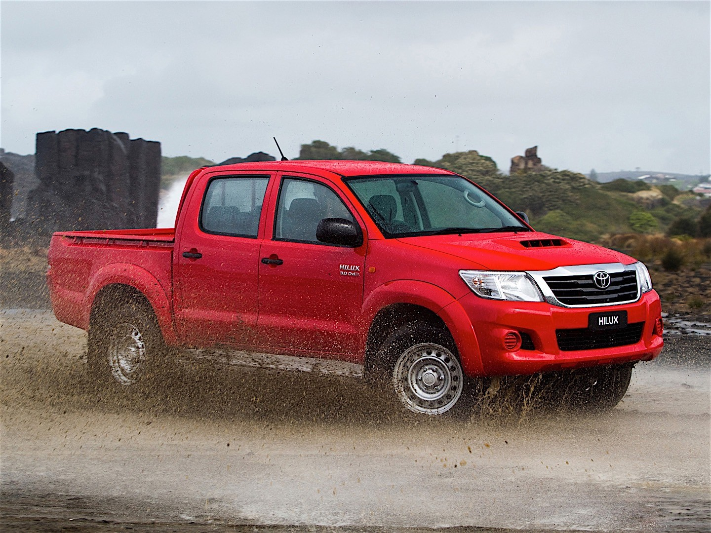 Toyota Hilux Double Cab Specs Amp Photos 2011 2012 2013