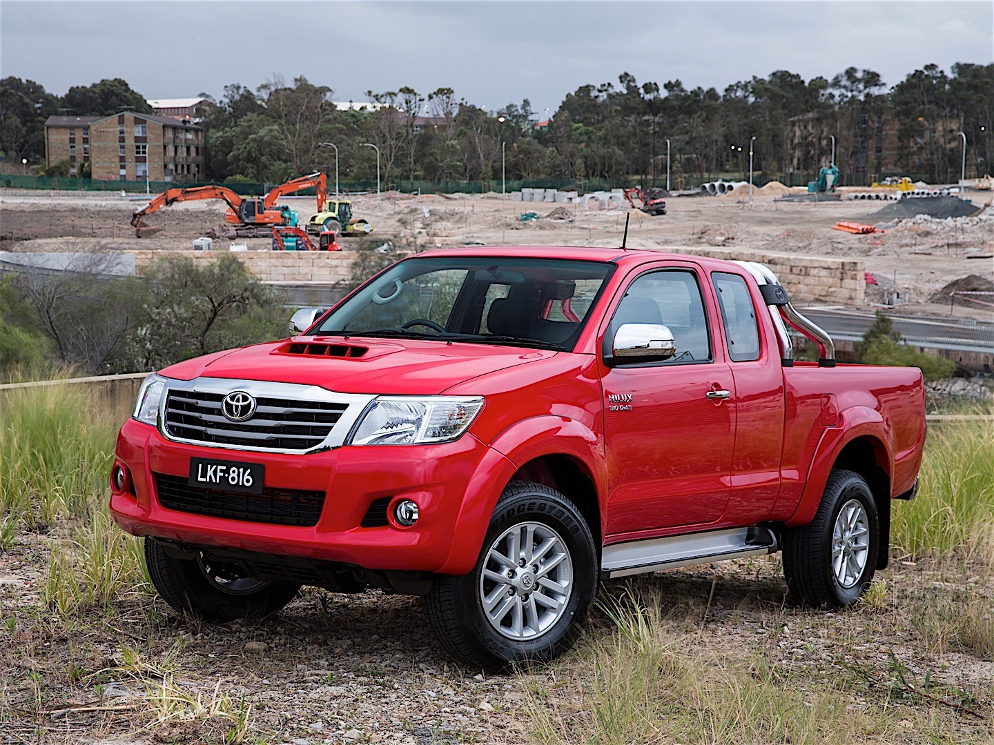 toyota hilux extra cab 2011 2015