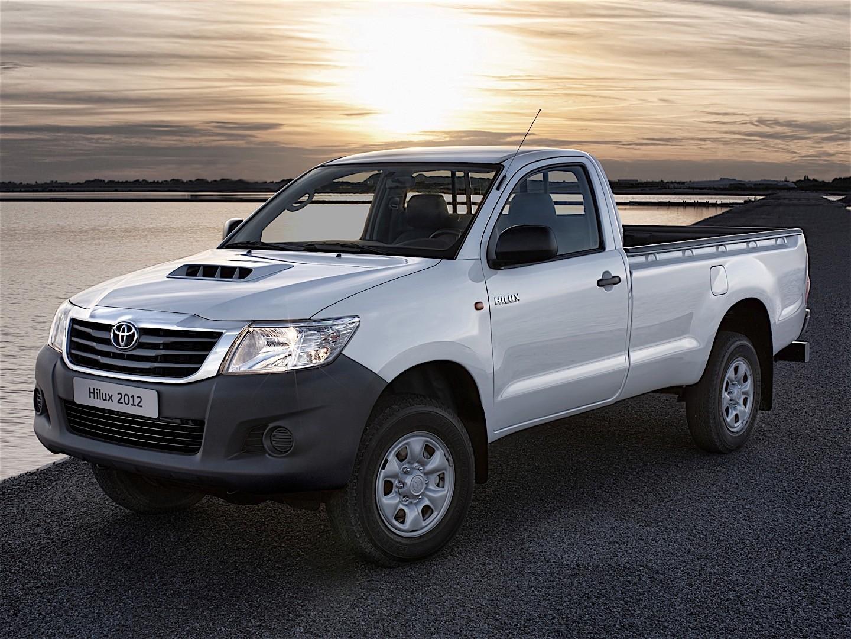All Toyota Vehicles >> TOYOTA Hilux Single Cab - 2011, 2012, 2013, 2014, 2015 - autoevolution