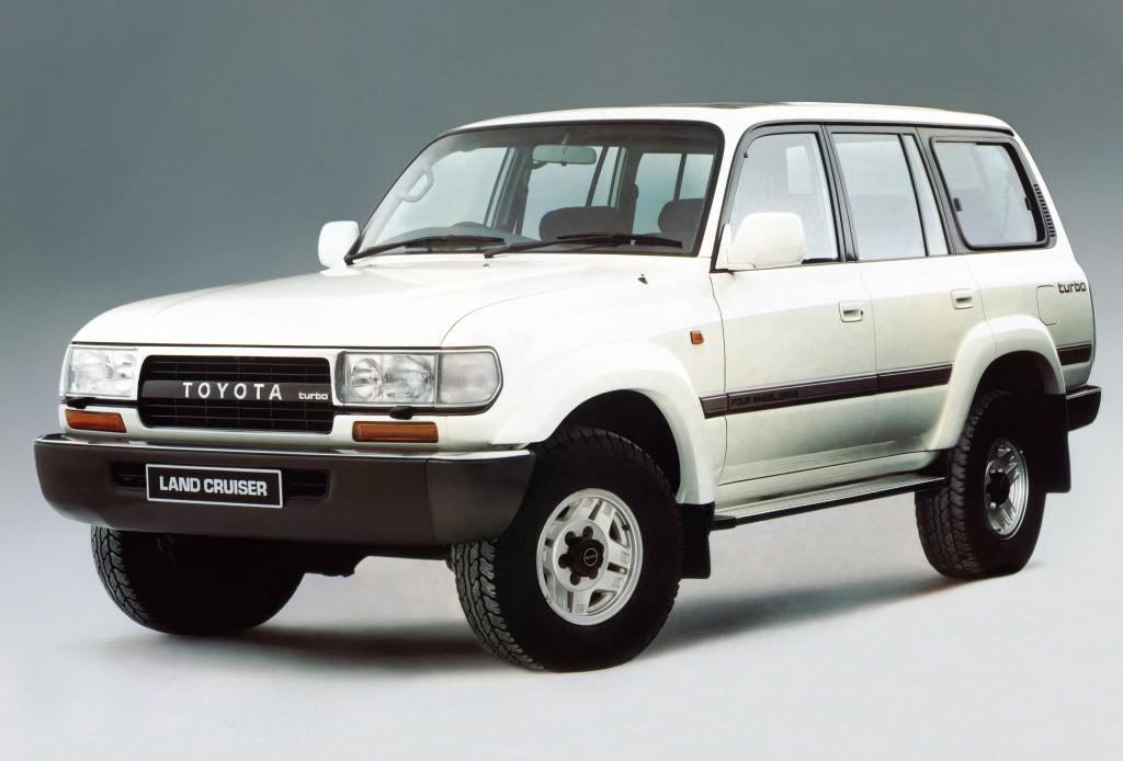 TOYOTA Land Cruiser FJ80 specs & photos - 1989, 1990, 1991