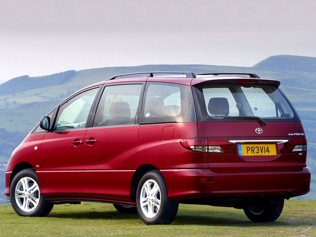 TOYOTA Previa specs & photos - 2003, 2004, 2005 ...