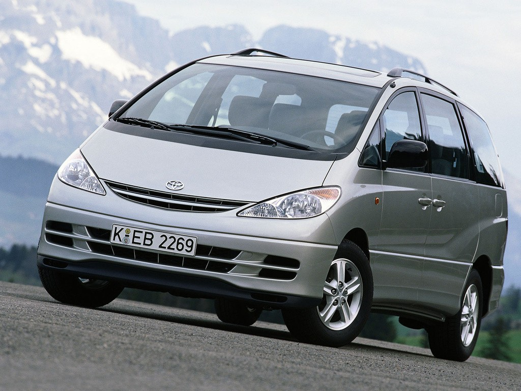 TOYOTA Previa specs & photos - 2000, 2001, 2002, 2003 ...