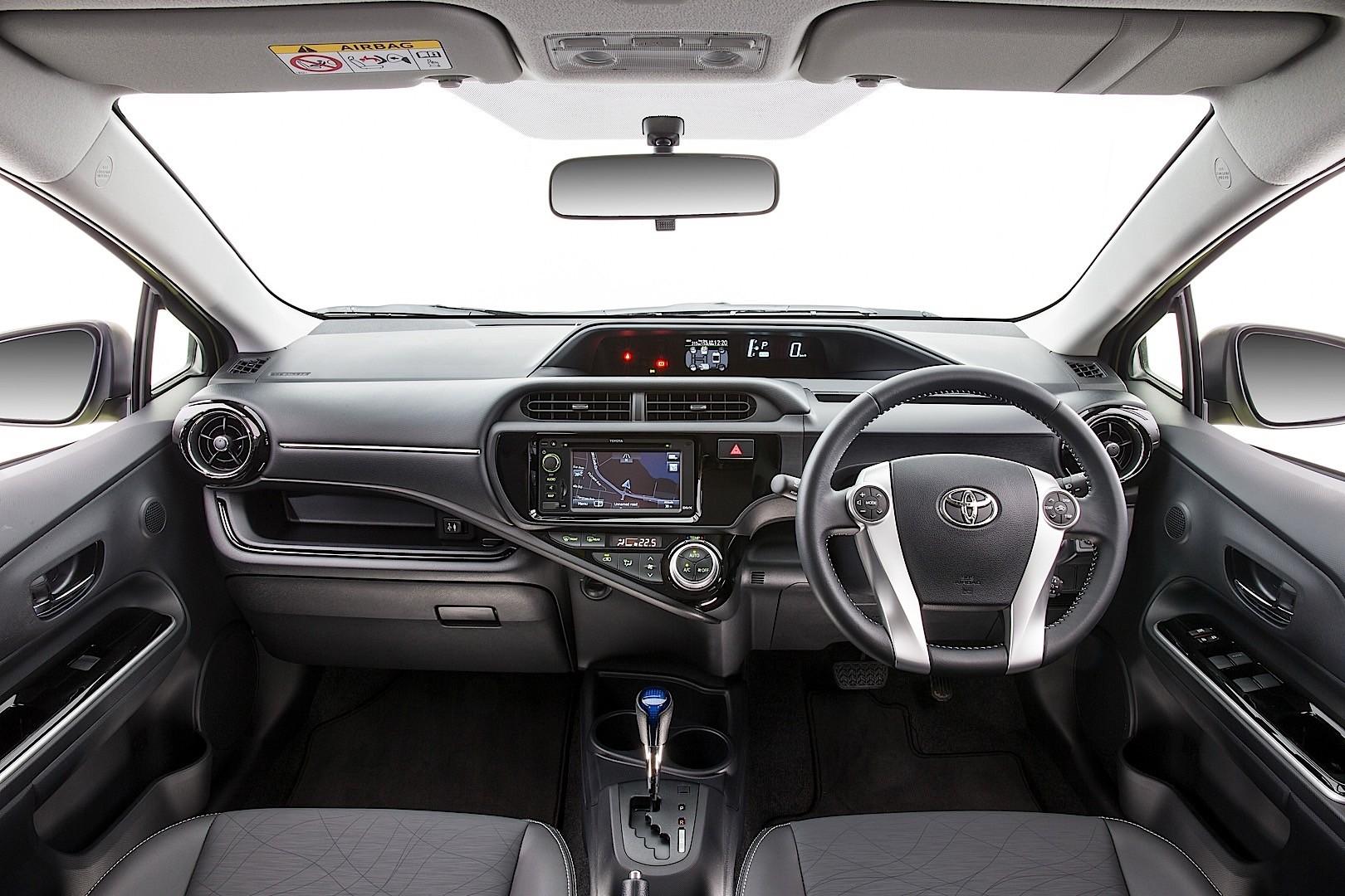 Car Audio System >> TOYOTA Prius C (Aqua) - 2015, 2016, 2017 - autoevolution