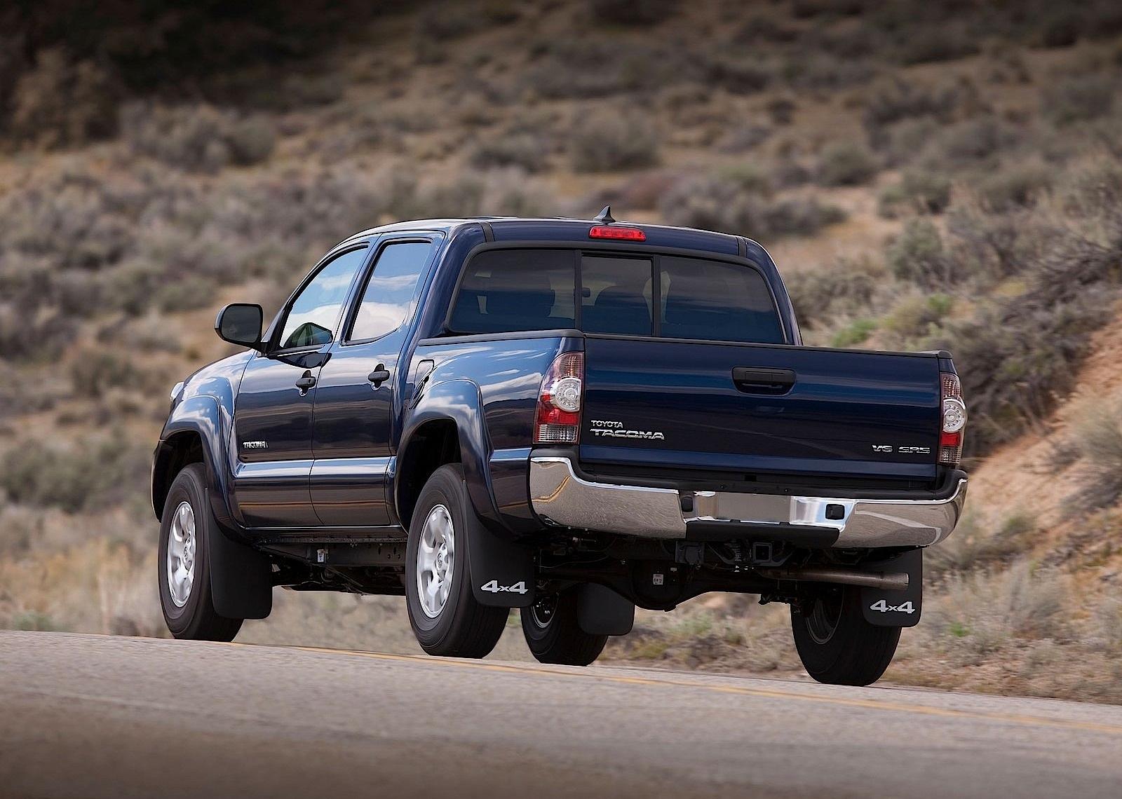 2013 Toyota Tacoma 2.7 >> TOYOTA Tacoma Double Cab specs - 2011, 2012, 2013, 2014, 2015 - autoevolution