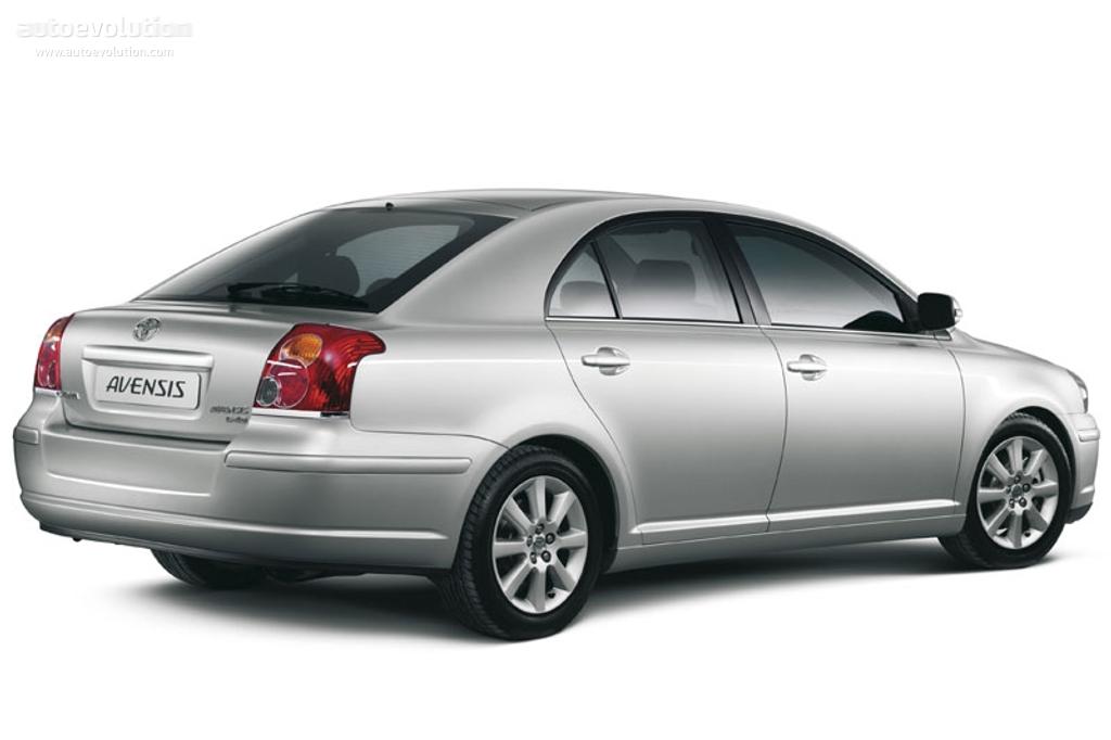 Тойота авенсис 2006 фото
