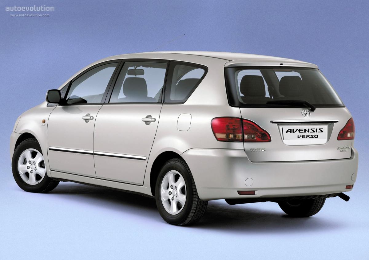 Toyota Auto Parts >> TOYOTA Avensis Verso specs & photos - 2001, 2002, 2003 - autoevolution