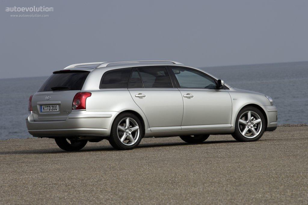 toyota avensis wagon specs - 2006, 2007, 2008 - autoevolution