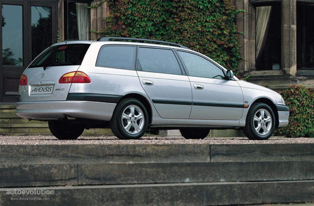 Тойота авенсис фото 2000