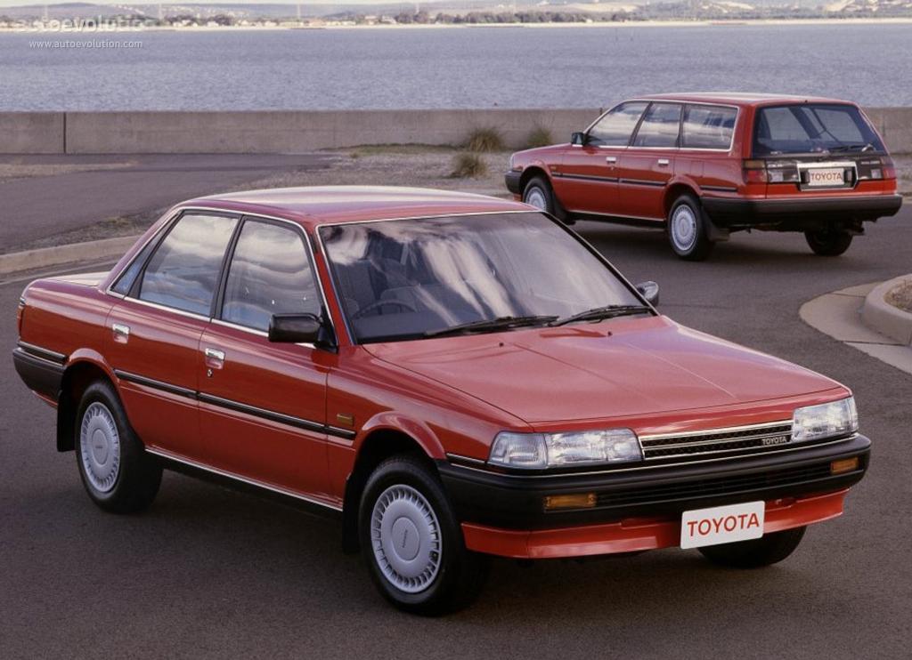 Toyota Camry Specs 1987 1988 1989 1990 1991