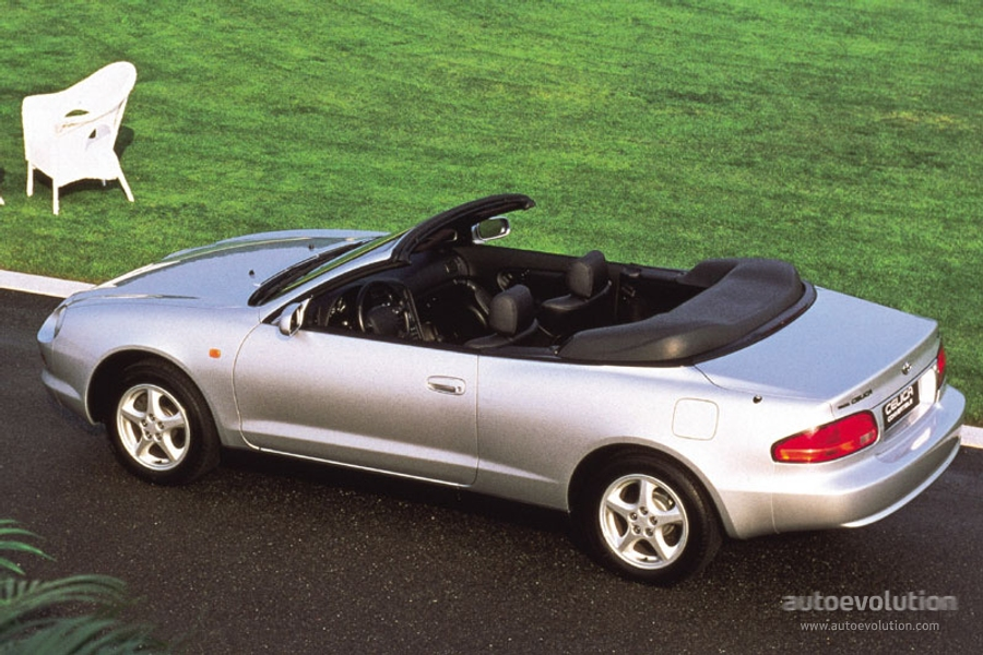 toyota celica convertible specs photos 1995 1996. Black Bedroom Furniture Sets. Home Design Ideas