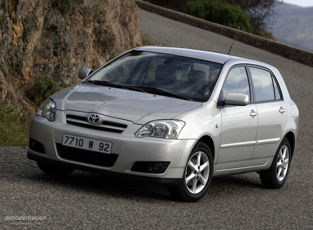 Toyota Corolla 5 Doors 2004 2005 2006 2007