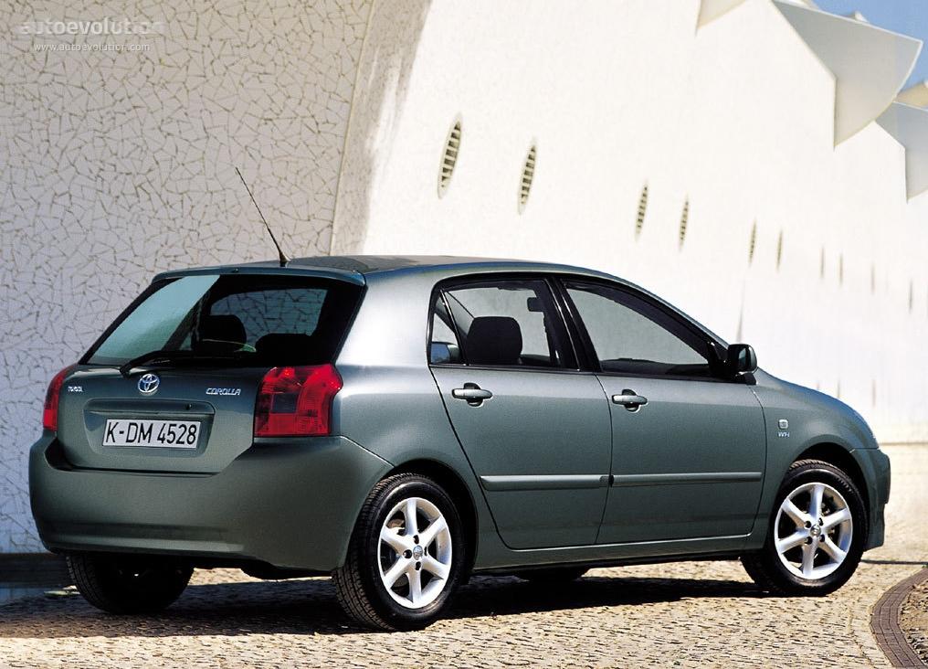 Toyota Corolla Evolution >> TOYOTA Corolla 5 Doors - 2002, 2003, 2004 - autoevolution