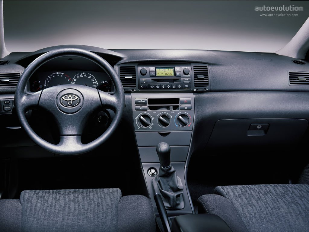2003 Toyota Corolla Interior Parts