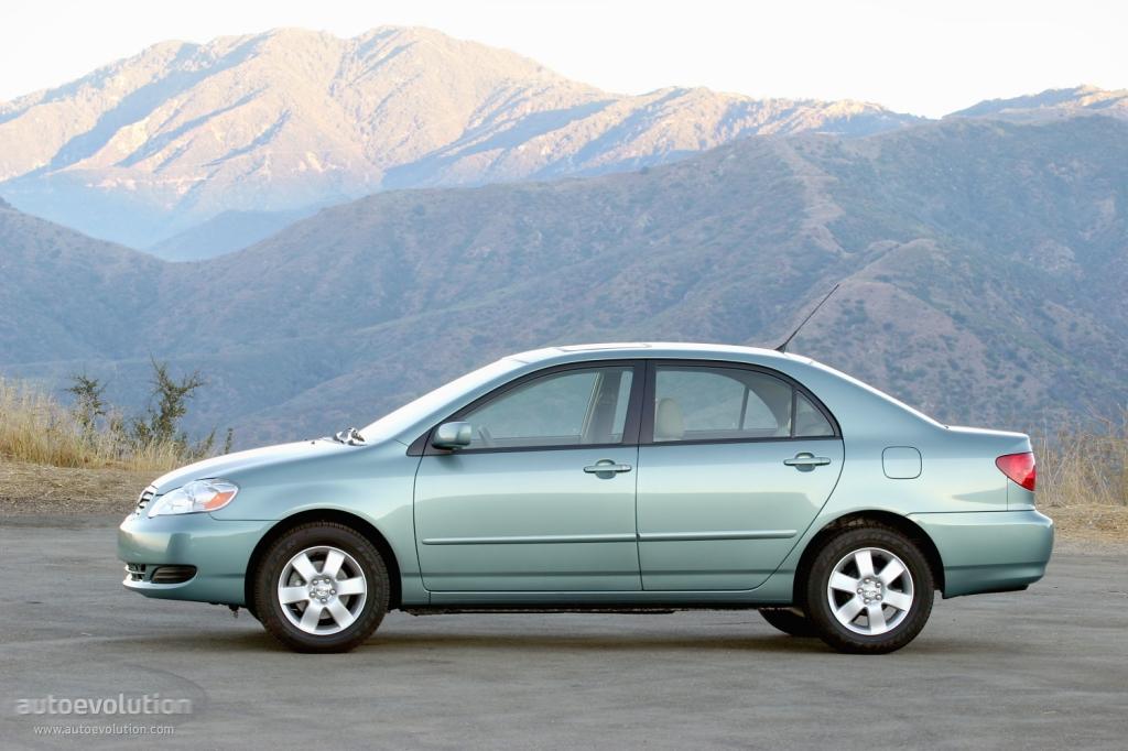 Toyota Corolla Us 2002 2003 2004 2005 2006 2007