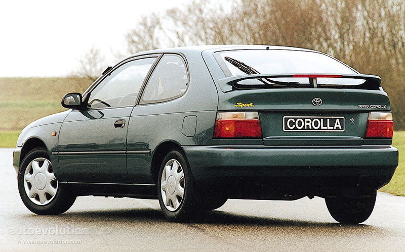 toyota corolla 3 doors specs photos 1992 1993 1994. Black Bedroom Furniture Sets. Home Design Ideas