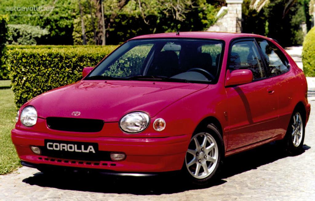 Toyota Corolla 3 Doors 1997 1998 1999 2000