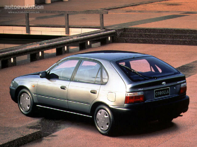 Toyota Corolla 5 Doors 1992 1993 1994 1995 1996