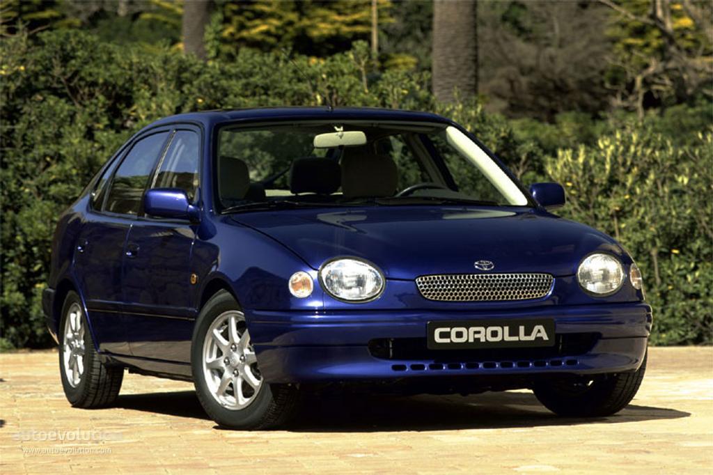 TOYOTA Corolla 5 Doors (1997   2000) ...