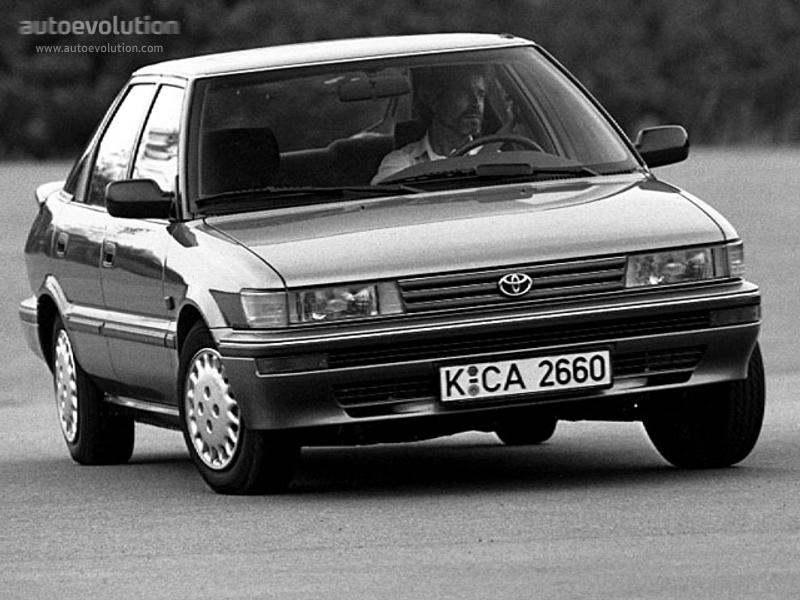 Toyota Corolla Liftback Specs Amp Photos 1987 1988 1989