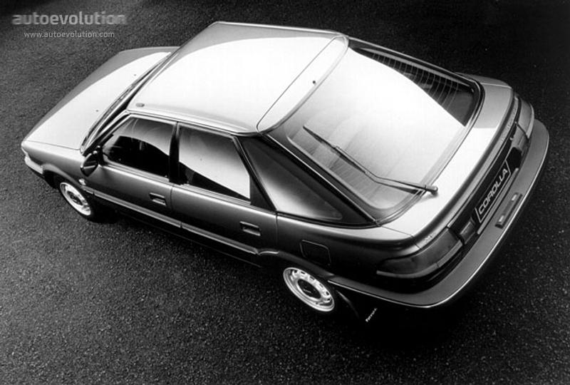 Toyota Corolla Liftback Specs 1987 1988 1989 1990
