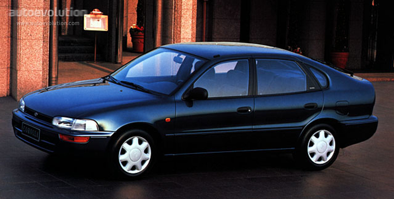 Toyota Corolla Liftback 1992 Autoevolution