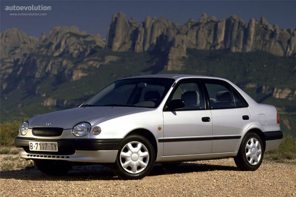 TOYOTA Corolla Sedan specs  1997 1998 1999 2000  autoevolution