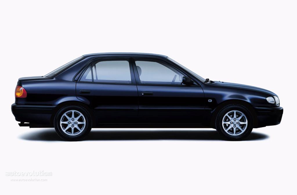 toyota corolla sedan specs - 2000, 2001, 2002 - autoevolution
