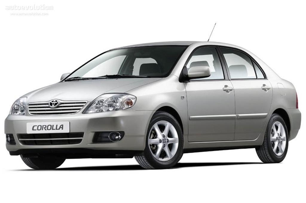 Toyota Corolla Sedan 2004 2007